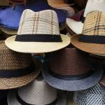 """Handmade Hats at the Market"" by rhamm"