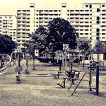 """Town Scene Singapore"" by sghomedeco"