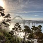 """""""Yaquina Bay Bridge"""" by RHMiller"""