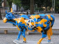 Swedish peace cow