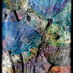 """""""22a Abstract Floral Painting Digital Expressionism"""" by Ricardos"""