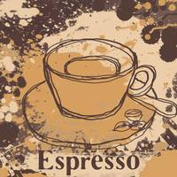 ORL-910-1 Cup of coffee iepresso
