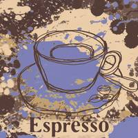 ORL-910-3 Cup of coffee iepresso