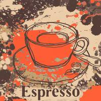ORL-910-4 Cup of coffee iepresso
