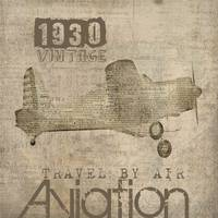 ORL-2150 Vintage Aviation Art LAYERS 2F