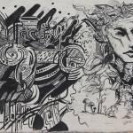 """""""Graffiti in Black"""" by rhamm"""