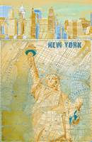 ORL-2604-2 New York Vintage Map