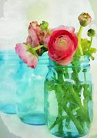 ORL-4022-2 Mason Jar Bouquet