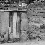 """Door in Stone and Adobe Wall"" by rhamm"