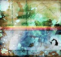 4b Abstract Expressionism Digital Collage Art