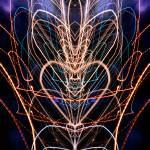 """ABSTRACT LIGHT STREAKS #183"" by nawfalnur"