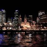 """SydneyHarbour_tiltshift"" by tectonicman9"