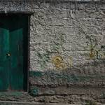 """Wall With Green Door"" by rhamm"