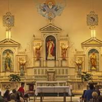 Holy Cross Interior El Paso Art Prints & Posters by Allen Sheffield