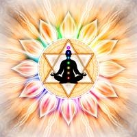 In Meditation With Chakras - Artwork 2