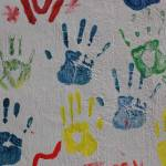 """Hand Prints on a Wall"" by rhamm"