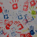 """Abstract Hand Prints"" by rhamm"