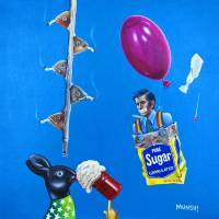 SMOKING FISH Art Prints & Posters by CAROLE MUNSHI