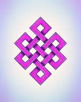 Endless Knot - Purple