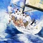 """Sailboat"" by ArtbySachse"