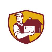 Mover Handling House Crest Retro