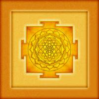 Golden Sri Yantra - Artwork 3