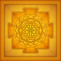 Golden Sri Yantra - Artwork 2