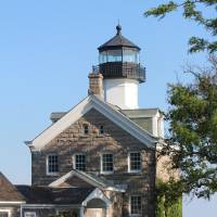 Morgan Point Light Art Prints & Posters by Robert Dunkle