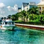 """Bahamas - Ferry to Paradise island"" by susansartgallery"