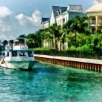"""Bahamas - Ferry to Paradise island"" by susansartgallery"