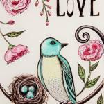 """""""Love Grows Here"""" by ElizaArt"""
