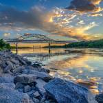 """""""Sunset on the Cape Cod Canal"""" by CapeCodCyclist"""