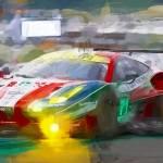 """Ferrari at Lemans 2016"" by ArtbySachse"