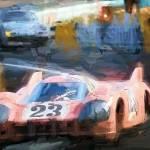 """Porsche"" by ArtbySachse"