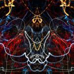"""ABSTRACT LIGHT STREAKS #207"" by nawfalnur"