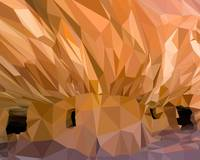 Mesa Verde Low-Poly Art