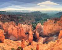 Bryce Canyon Low-Poly Art