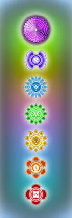 The Seven Chakras - Series 4 Artwork 2