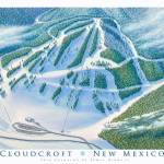 """Cloudcroft New Mexico"" by jamesniehuesmaps"