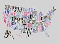 Playhouse US Typography Map