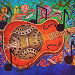 """Music - Dobro"" by sueduda"