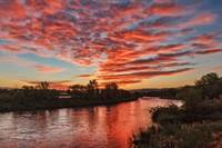 Sunrise Over The Payette