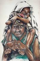 water colour-Mother and child-PNG.bmp