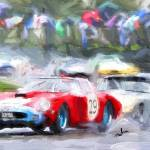 """Racing in the rain"" by ArtbySachse"