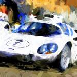 """""""Chaparral 2D Chevrolet"""" by ArtbySachse"""