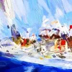 """""""Blue sail"""" by ArtbySachse"""