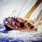 """""""Old J Boat"""" by ArtbySachse"""