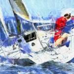 """sailing"" by ArtbySachse"