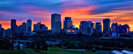 Edmonton Sunset