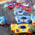 """Historic Race Cars"" by ArtbySachse"